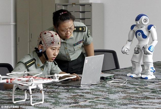 Resultado de imagen de imagen escuela robotica china estudiantes